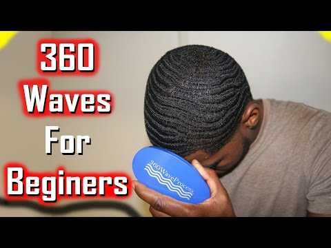 How to get 360 Waves For Beginners with Nappy or Straight Hair