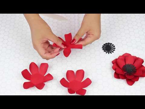 Mini Paper Flower #2 for Weddings and Events