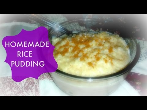 My Grandma Mary's Rice Pudding