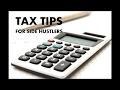 Pay Less Taxes: Tax Tips for Side Hustlers and Small Business Owners