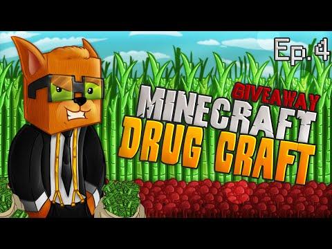 Minecraft Drug Craft: Episode 4 - Rank Giveaway!