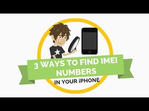 3 Ways to Find IMEI Numbers in Your iPhone