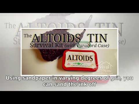 Altoids Tin Survival Kit » Survival at Home