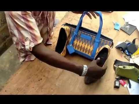 How to make Ankara shoe and  bag D I Y