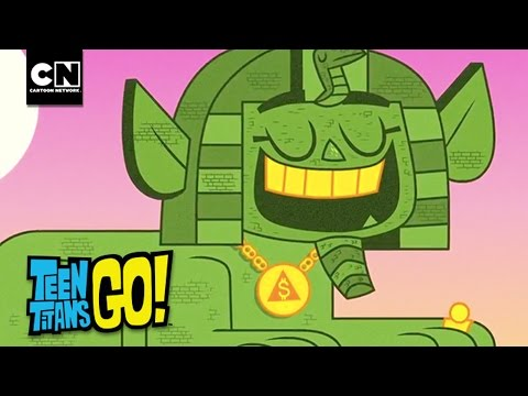 Pyramid Mummy Money I Teen Titans Go I Cartoon Network