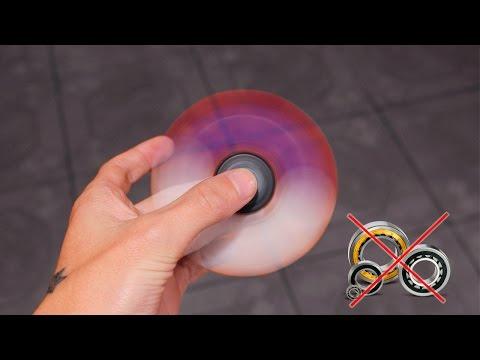 DIY Fidget Spinner Does Not Stop?