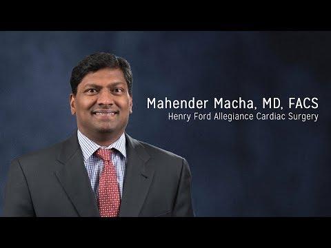 Mahender Macha, MD, FACS - Henry Ford Allegiance Cardiac Surgery