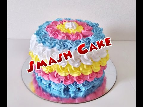 Eggless SMASH Cake
