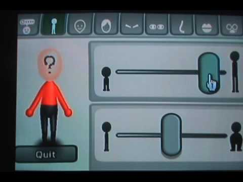 How to Make a Question Mark Mii (works on Wii, 3DS, Wii U)