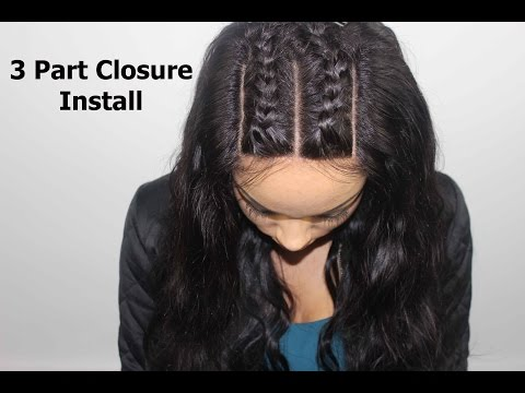 How To Install A 3 Part Closure Braid Pattern Download Mp4 Full HD ...