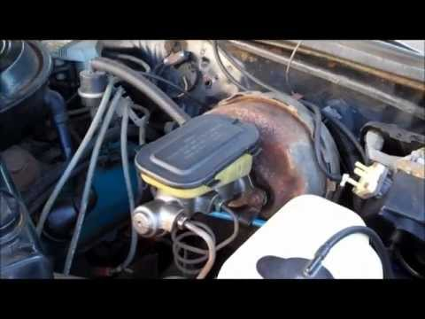 How To Master Cylinder Replacement Classic G-Body Garage