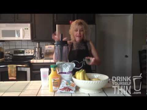 Body by Vi Recipe for Banana, Orange Juice and Blueberry Shake - Drink Yourself Thin!