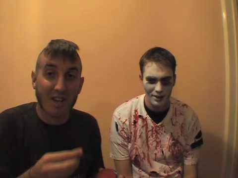 How to make a Low Budget ZOMBIE Costume & Make-up