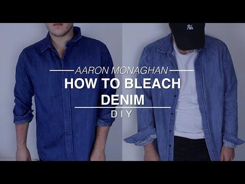 How to Bleach Denim