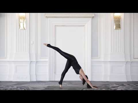 Yoga Moves: Glammed-up Disco Dog will get your hips swinging