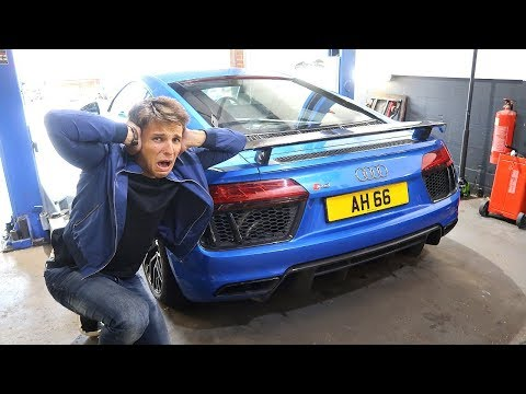 THE LOUDEST AUDI R8 EVER? MY NEW CRAZY EXHAUST!