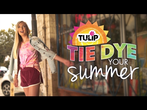 Try this Fun Ice Dye Technique with Tulip Tie-Dye Kits
