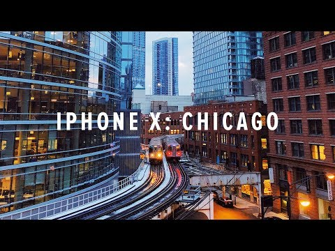 iPhone X Cinematic 4K Chicago + BTS | Andy To