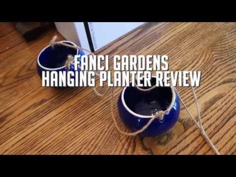 Fanci Life Garden Hanging Planter review