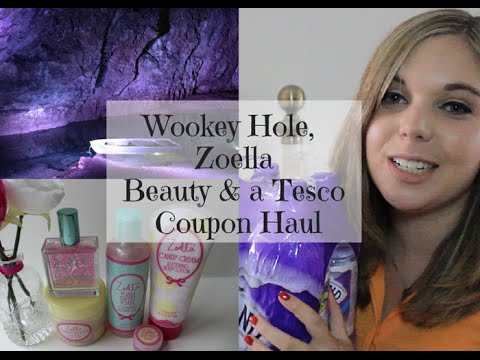 Wookey Hole, Zoella Beauty & A Tesco Coupon Haul (52% Saving)   Emma Mumford