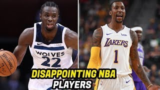 5 NBA Players That Have Been Disappointing in 2017-2018 Season