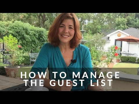Table Talk - How To Manage The Guest List