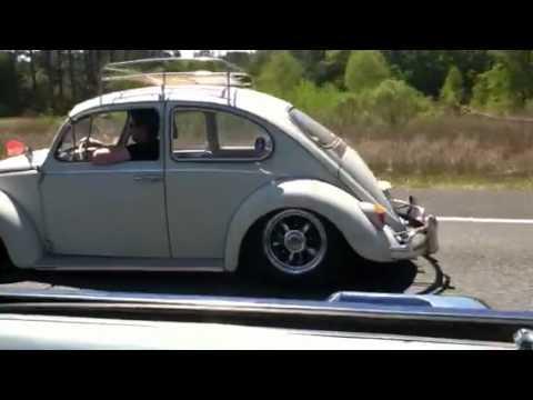 Rolling in my 65 VW Bug