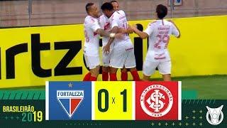 FORTALEZA 0 x 1 INTERNACIONAL - Melhores Momentos - Brasileirão 2019 (17/08/2019)