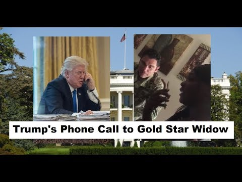 LISTEN: Video and Audio of Trump phone call to gold star family.