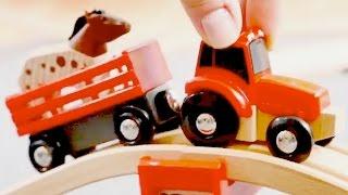 Tractores infantiles - Tractors for children - Trenes y coches - Carritos para niños