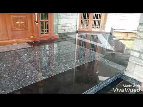 How look Main entrance Granite flooring design,