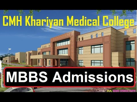 MBBS Admissions in CMH Khariyan Medical College 2018 (Admissions Survey)