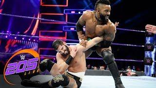Cedric Alexander vs. Ariya Daivari: WWE 205 Live, Dec. 12, 2017