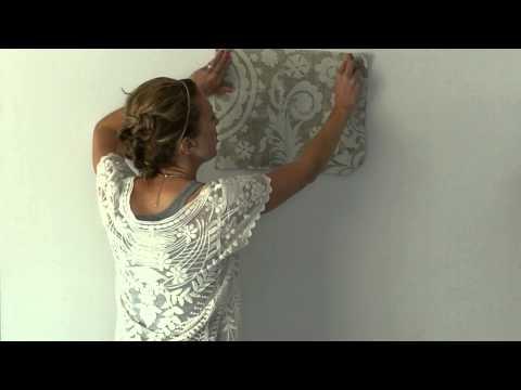 Episode 13   Fabric Wallpaper Tutorial