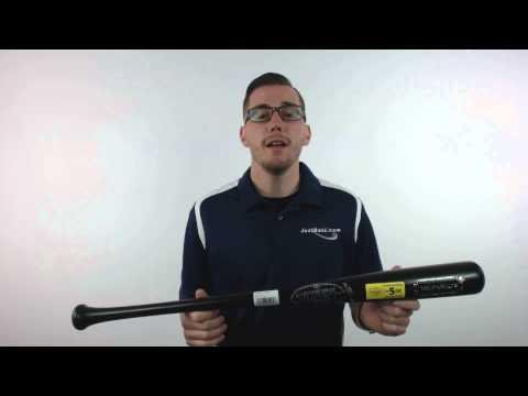 Louisville Slugger -5 Pro Stock Lite C271 Black Wood Baseball Bat: WBPL271-BK
