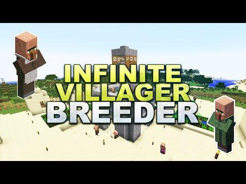 Minecraft - Infinite Villager Breeder - Tutorial 1.12