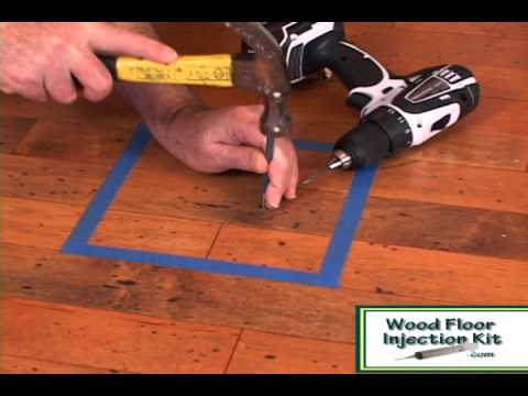 DriTac Repair Kit - Fixing Engineered Floor Pops and Squeaks