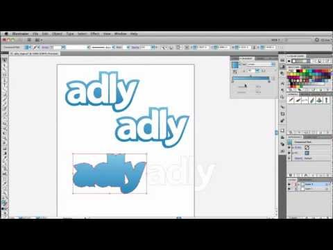 Adobe Illustrator Tutorial - Object Expand Feature