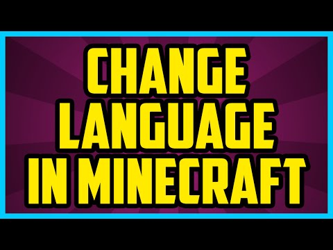 How To Change Language In Minecraft PC 2017 (QUICK & EASY) - Minecraft Language Settings