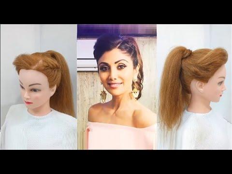 Легкий хвост прически Prom Ponytail Hairstyle : Easy Hairstyles