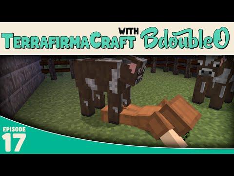 Minecraft Terrafirmacraft :: How to get Milk:: E17