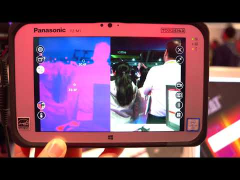 ToughPad with FLIR Thermal Imaging Camera