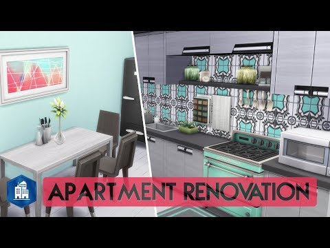 Sims 4 | Apartment Renovation | Student Apartment (3 Bedrooms)