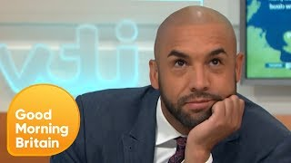 Alex Beresford Storms Off After Being Teased by Piers Morgan   Good Morning Britain