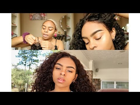 Best Curly Hair Wig!? ft. JS Luxury Collection