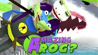 JOKE FROG FINALLY BEATS BAT FROG?! - Amazing Frog - Part 115 | Pungence