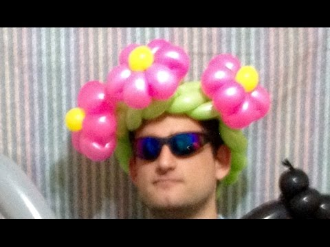 Flower Braid Balloon Hat (Balloon Twisting Lesson)