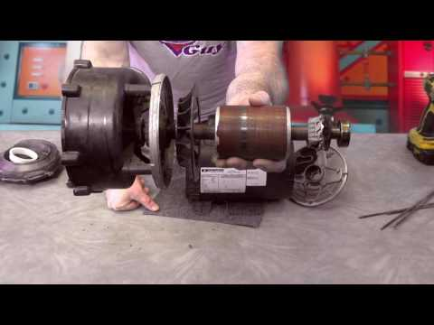 Removing a Stuck Impeller on a Hot Tub Pump How To Spa Guy