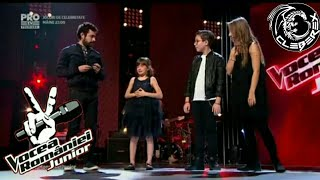 Download Vocea României Junior - Echipa Moga (Special message and Finalist select)