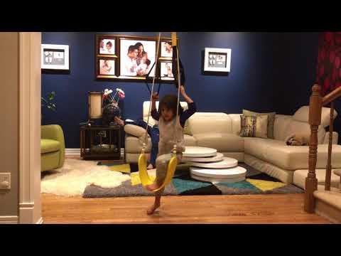 Homemade Gymnastics Rings